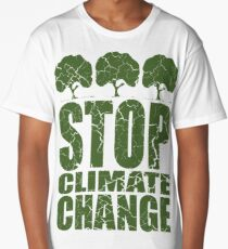 STOP CLIMATE CHANGE Long T-Shirt