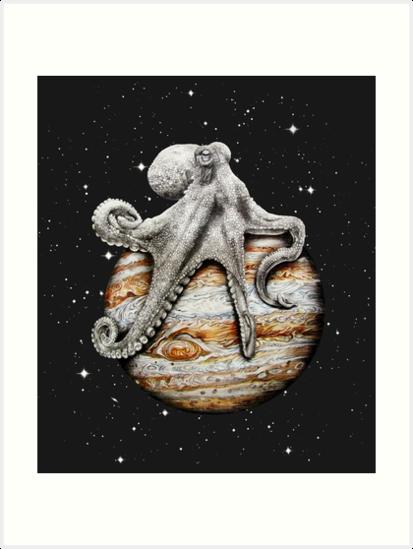 «Cefalópodo Celestial» de jamesormiston