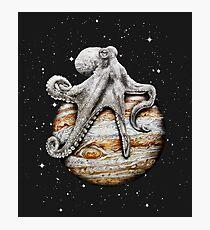 Himmlischer Cephalopod Fotodruck