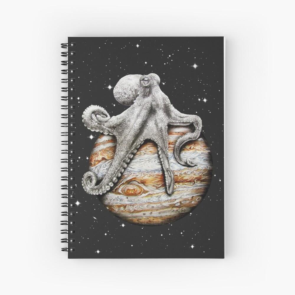 Himmlischer Cephalopod Spiralblock