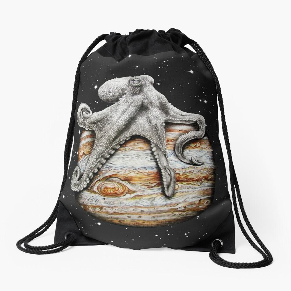 Himmlischer Cephalopod Turnbeutel
