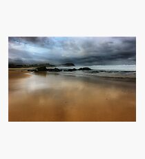 North to Bar Beach Photographic Print