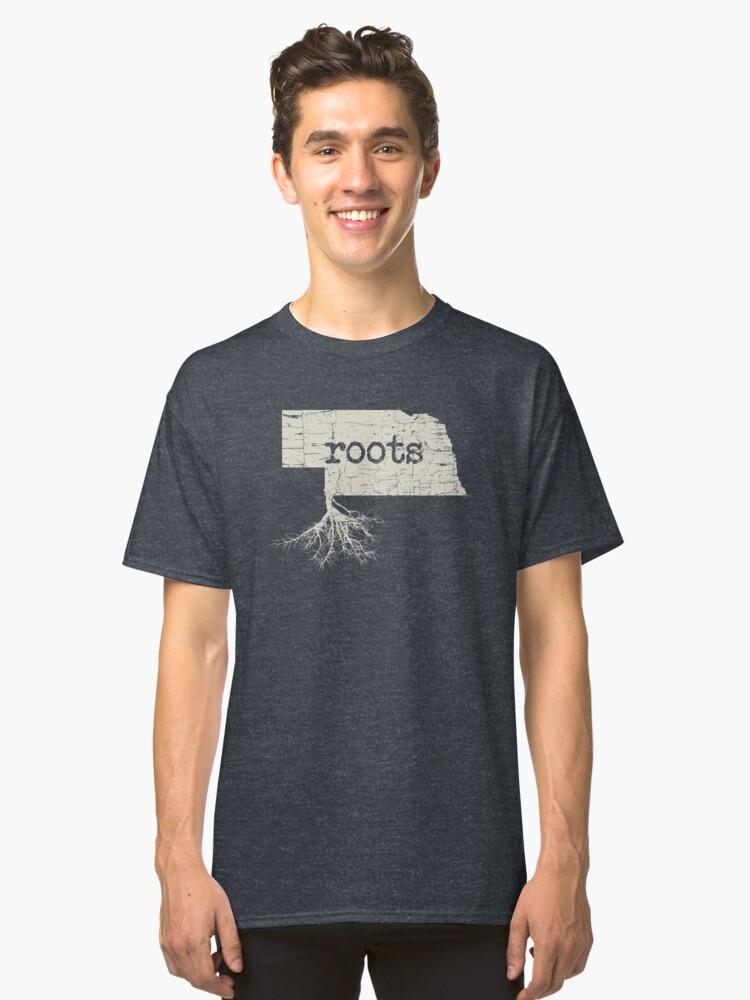 Nebraska Roots Classic T-Shirt Front
