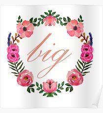 Floral Wreath - Big Poster