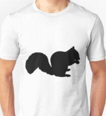 Squirrel Silhouette Unisex T-Shirt