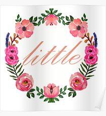 Floral Wreath - Little  Poster