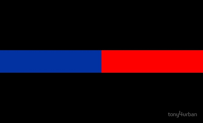 Blue And Red Line