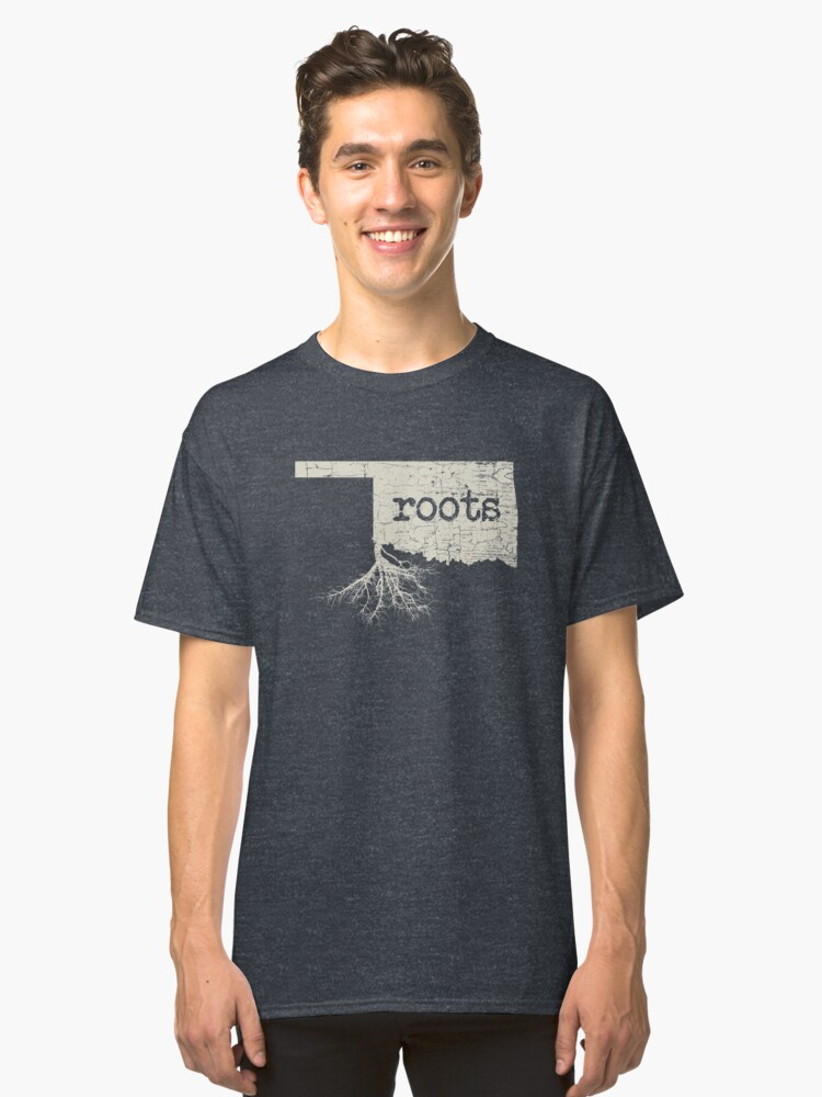 Oklahoma Roots Classic T-Shirt Front