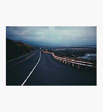 Volcano Road  Photographic Print