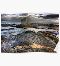 Merewether Pool Pump House Poster