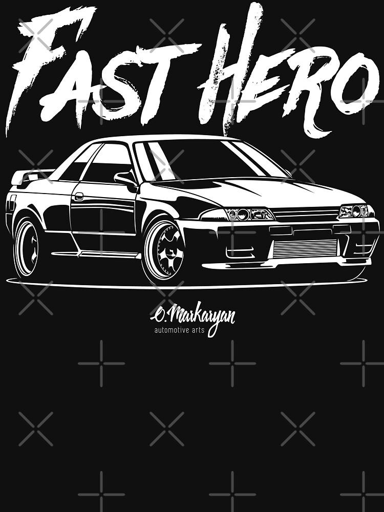 Fast Hero. R32 GT-R by OlegMarkaryan