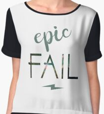 Epic fail - an award worth giving Women's Chiffon Top