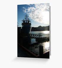 Vessel Greeting Card