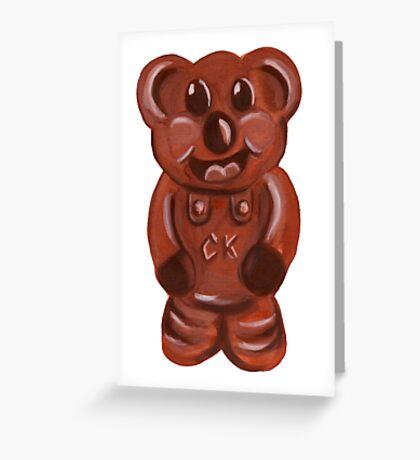 Caramello Koala  Greeting Card