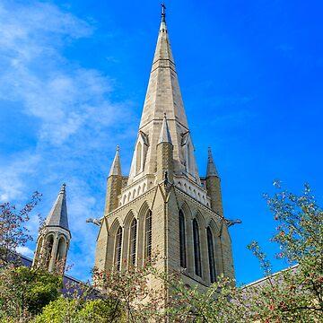 Sacred Heart Cathedral Bendigo, Victoria, Australia by adamcal