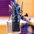 Recording Studio Microphone by Adam Calaitzis