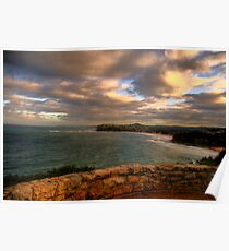 Wonder - Sydney Beaches - The HDR Series, Sydney Australia Poster