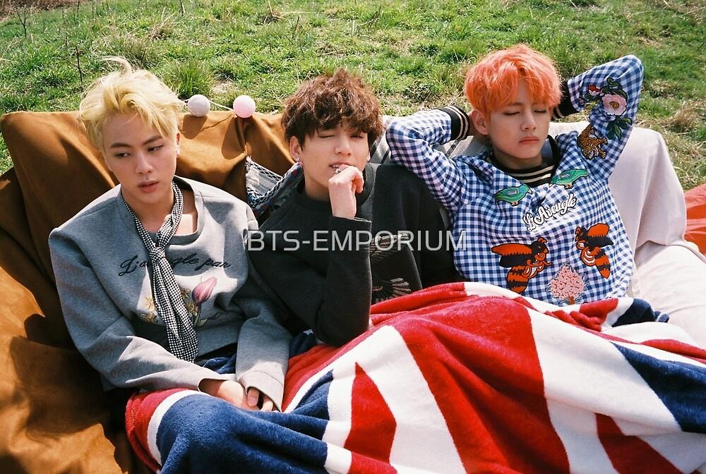 BTS YOUNG FOREVER JIN V & JUNGKOOK by BTS-EMPORIUM