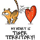 My Heart is Tiger Territory by rohanchak