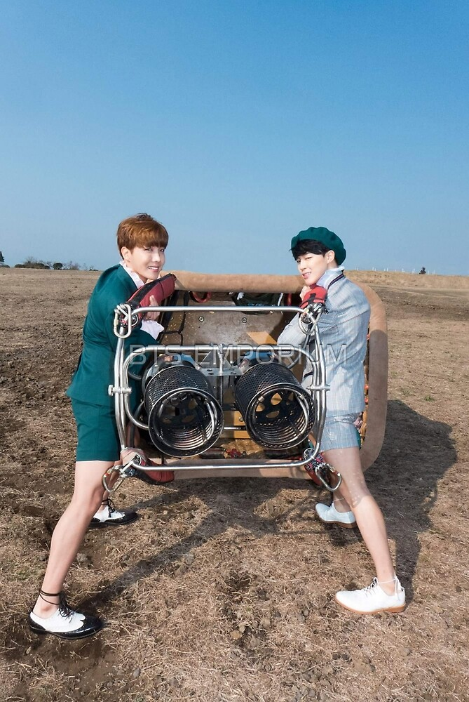 BTS YOUNG FOREVER J-HOPE AND JIMIN by BTS-EMPORIUM