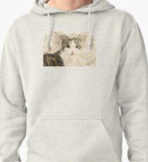 Cat Art Pullover Hoodie