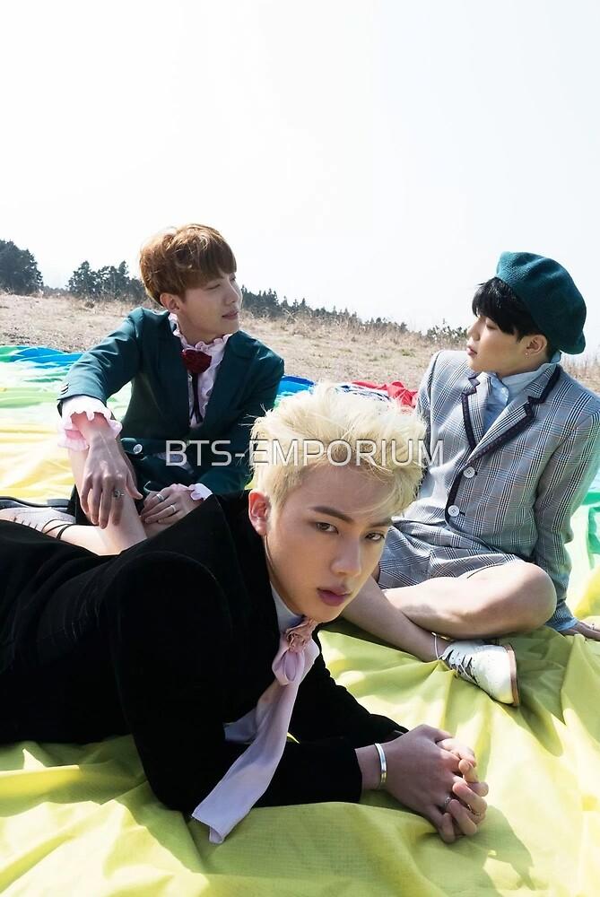BTS YOUNG FOREVER JIN J-HOPE & JIMIN by BTS-EMPORIUM