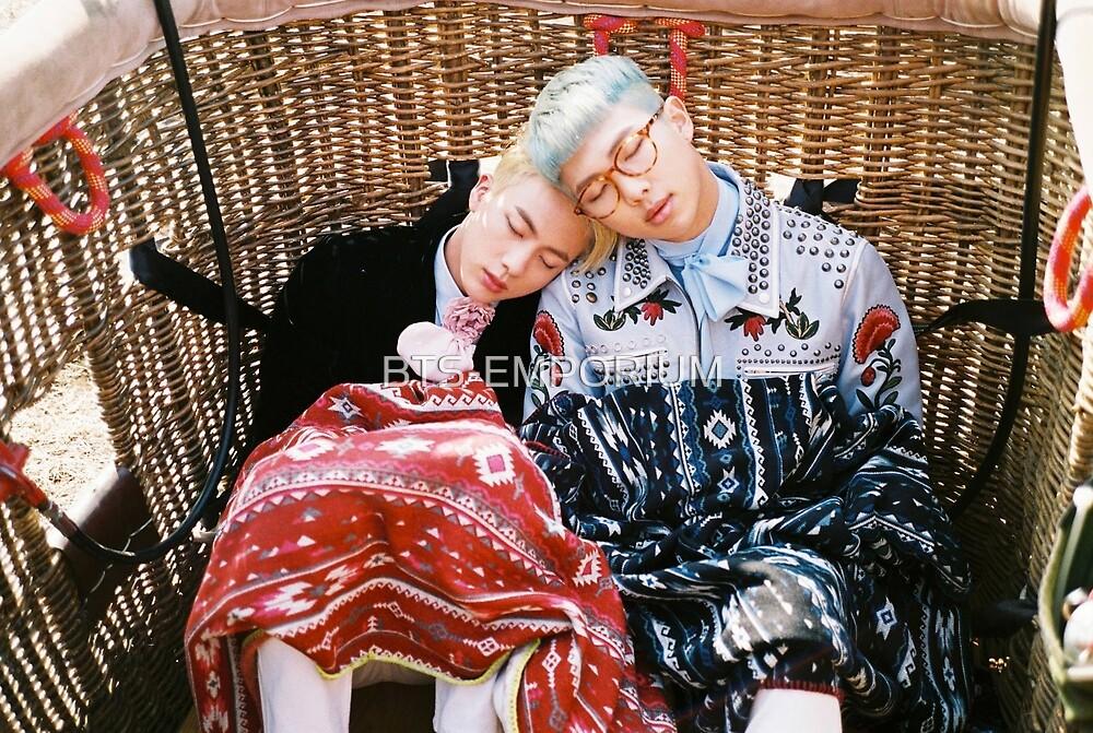 BTS YOUNG FOREVER JIN & RAP MONSTER by BTS-EMPORIUM