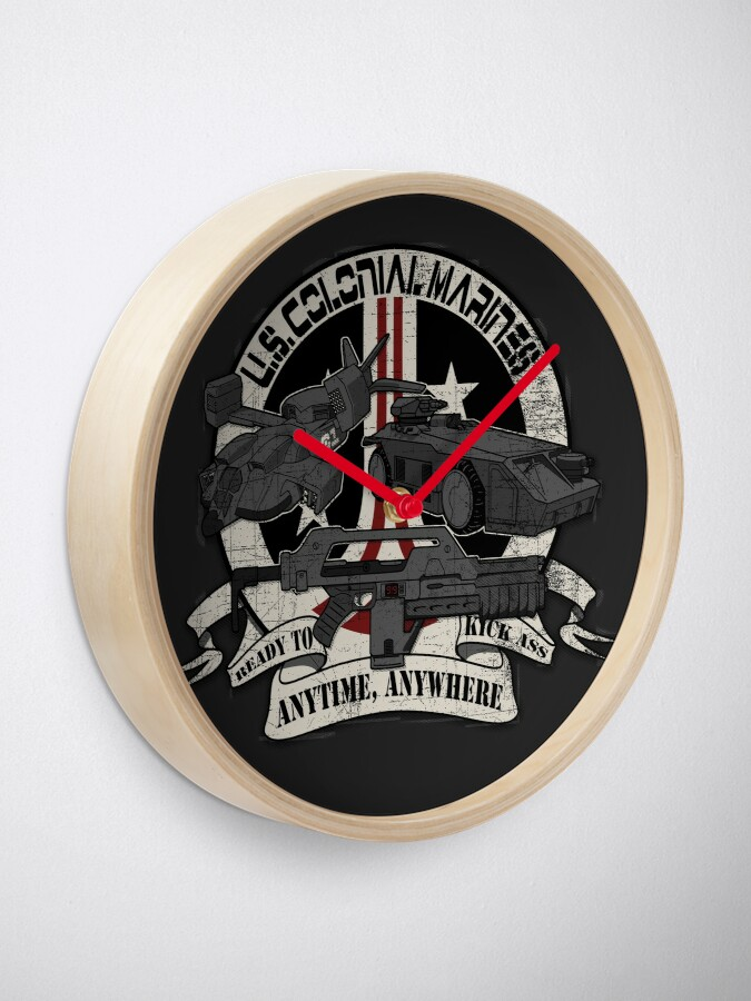 Alternate view of Anytime, Anywhere. Clock