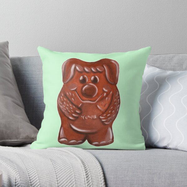 Yowie Throw Pillow