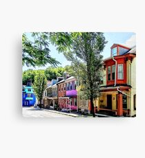 Jim Thorpe PA - Quaint Street Canvas Print
