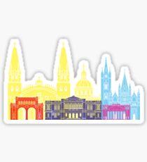 Guadalajara MX skyline pop  Sticker