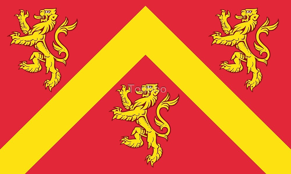 Flag of Anglesey by Tonbbo