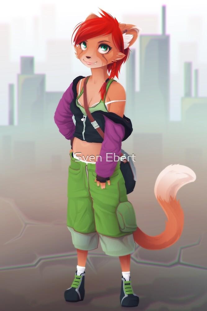 Kitty Fox Cutie by Sven Ebert