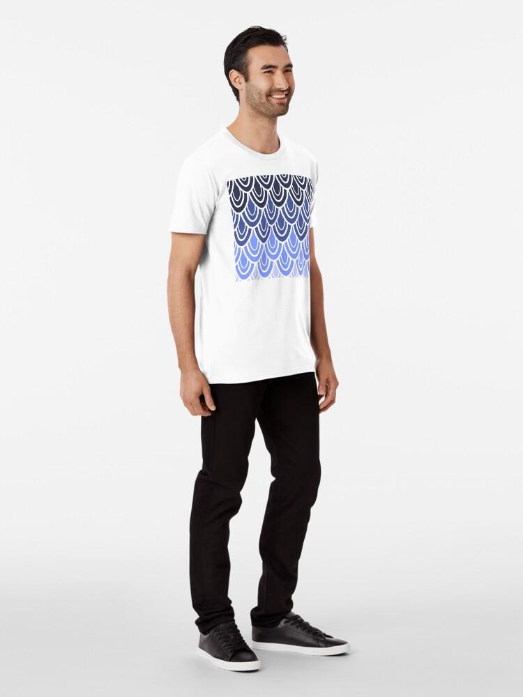 Alternate view of Like A Peacock Premium T-Shirt