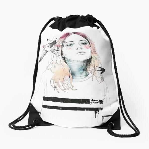 TAKE OUT YOUR BIRDS Drawstring Bag