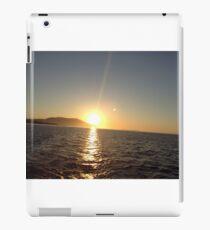 Washington sunset  iPad Case/Skin