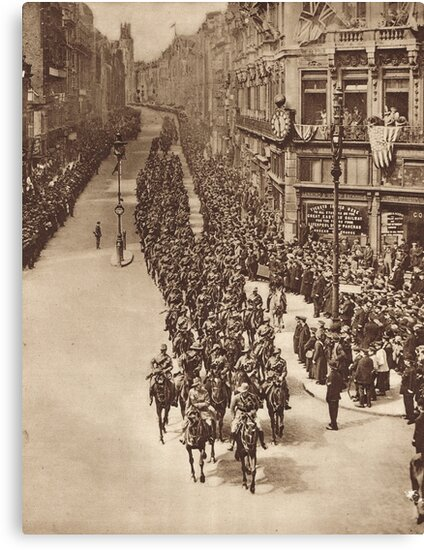 Anzac Day, London, 25 April 1919 by artfromthepast