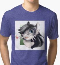 Whiskey headshot T-shirt  Tri-blend T-Shirt