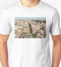 Summer Rooftops in Seville Spain T-Shirt