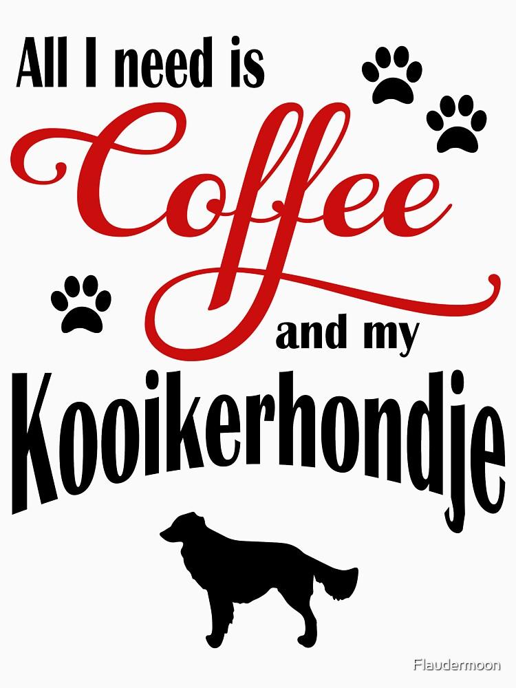 Coffee and my Kooikerhondje by Flaudermoon