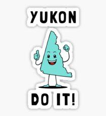 Yukon Do It Sticker