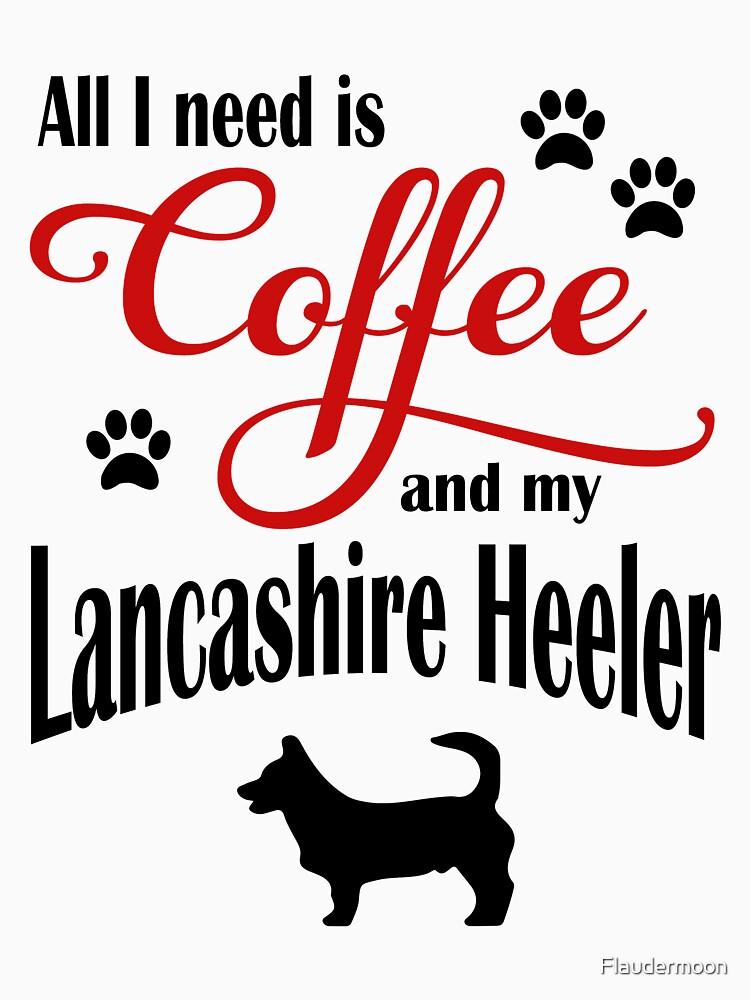 Coffee and my Lancashire Heeler by Flaudermoon