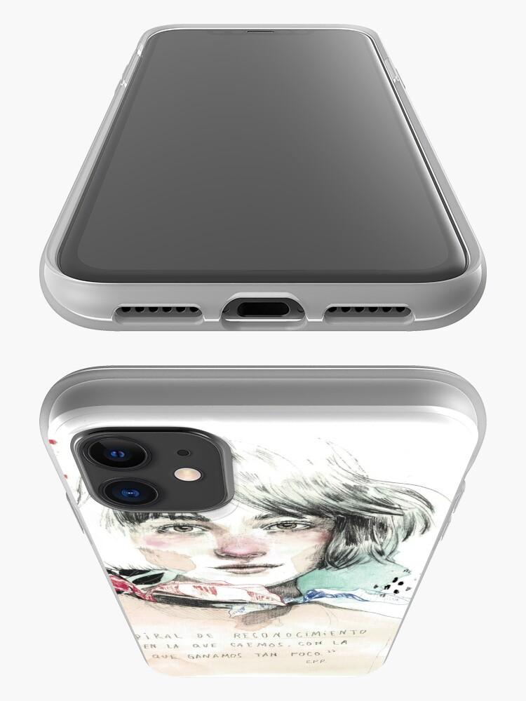 Vista alternativa de Funda y vinilo para iPhone LA ESPIRAL elenagarnu