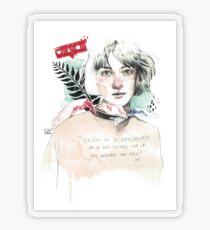 THE SPIRAL elenagarnu Transparent Sticker