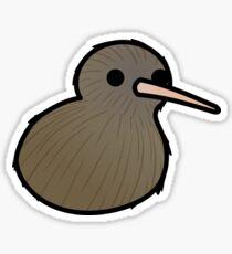 Too Many Birds! - New Zealand Kiwi Sticker
