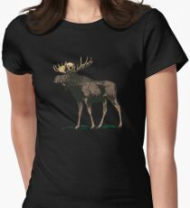 Moose Women's Fitted T-Shirt