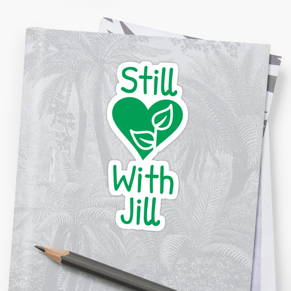 Still With Jill Green Plant & Heart  by cnkna