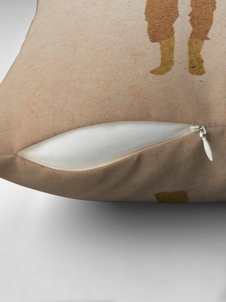 Alternate view of Fantastic Mr Fox  Throw Pillow