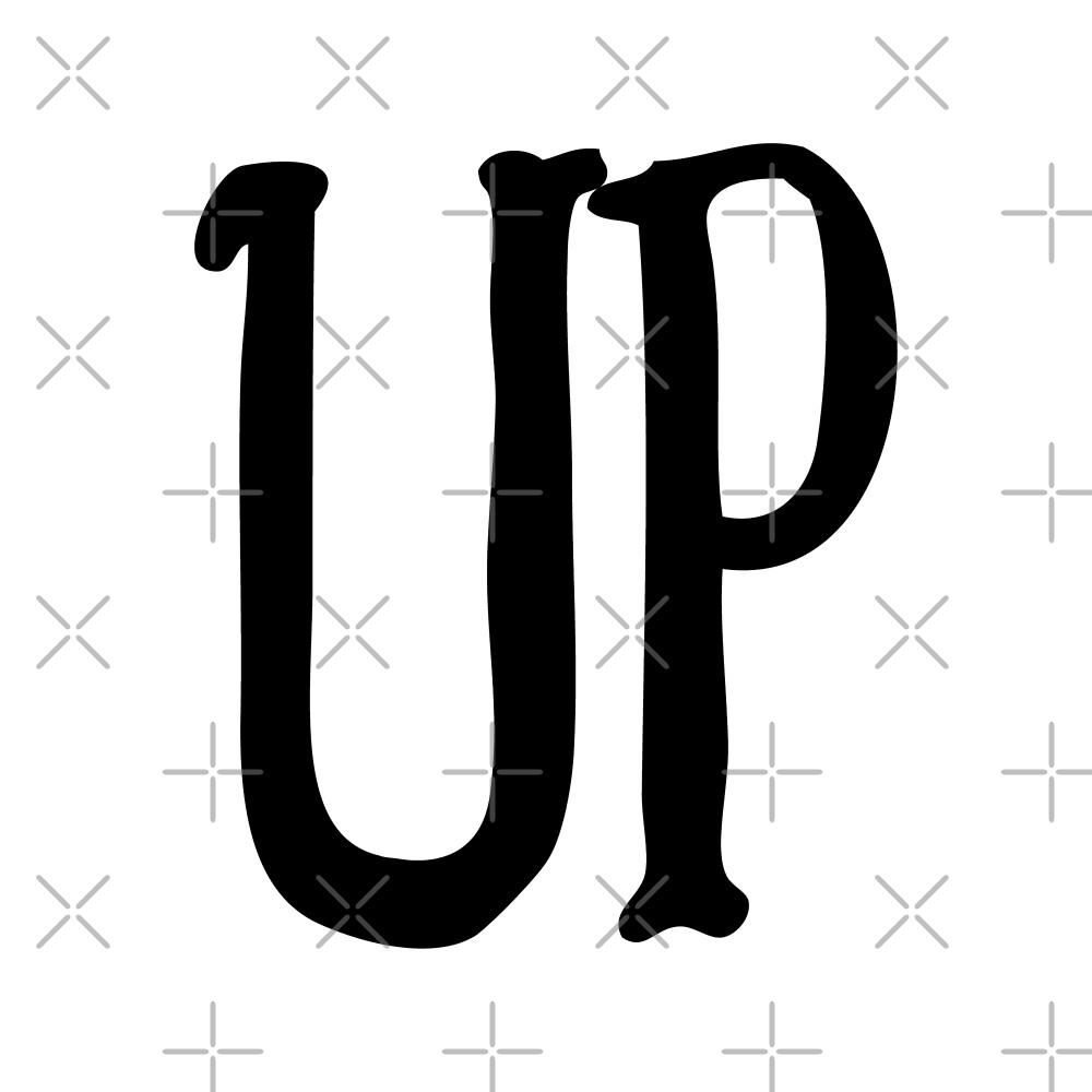 Up Typography by Daniel Ward