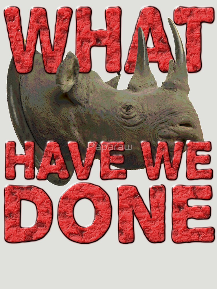 WHAT HAVE WE DONE by Paparaw